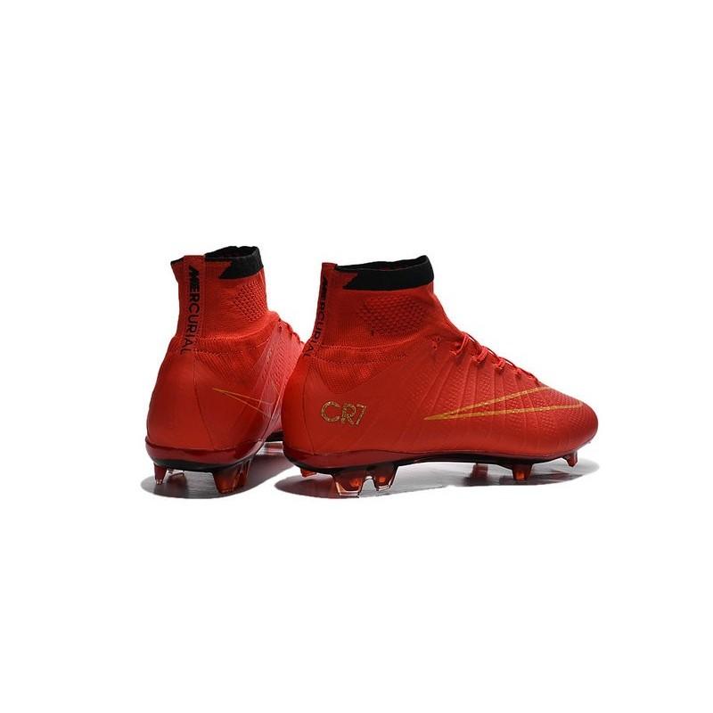 Calcio Fg Nike Da Superfly Ronaldo Rosso Nuovi Oro Scarpe Mercurial nw8mOvN0
