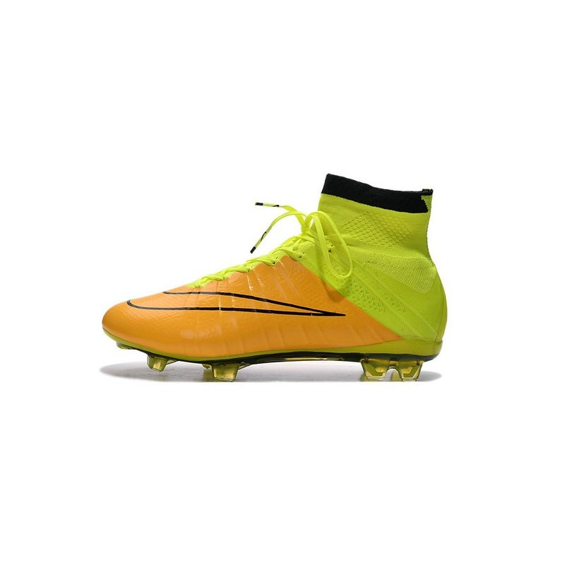 Mercurial Calcetto Pelle Nuove Nike Giallo Superfly Fg Scarpe Volt nwOP8kX0