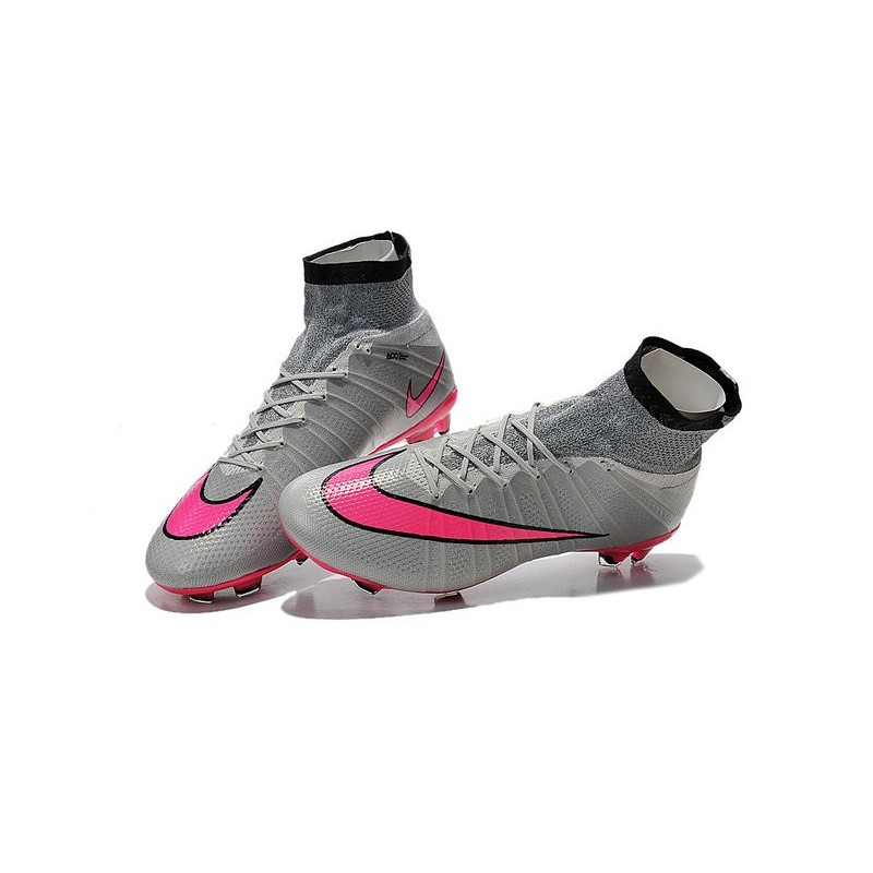 new arrival 19d7b de784 ... real real ag soccer boots argento rosa nero nike mercurial superfly vi  gituttio grigio nero blu