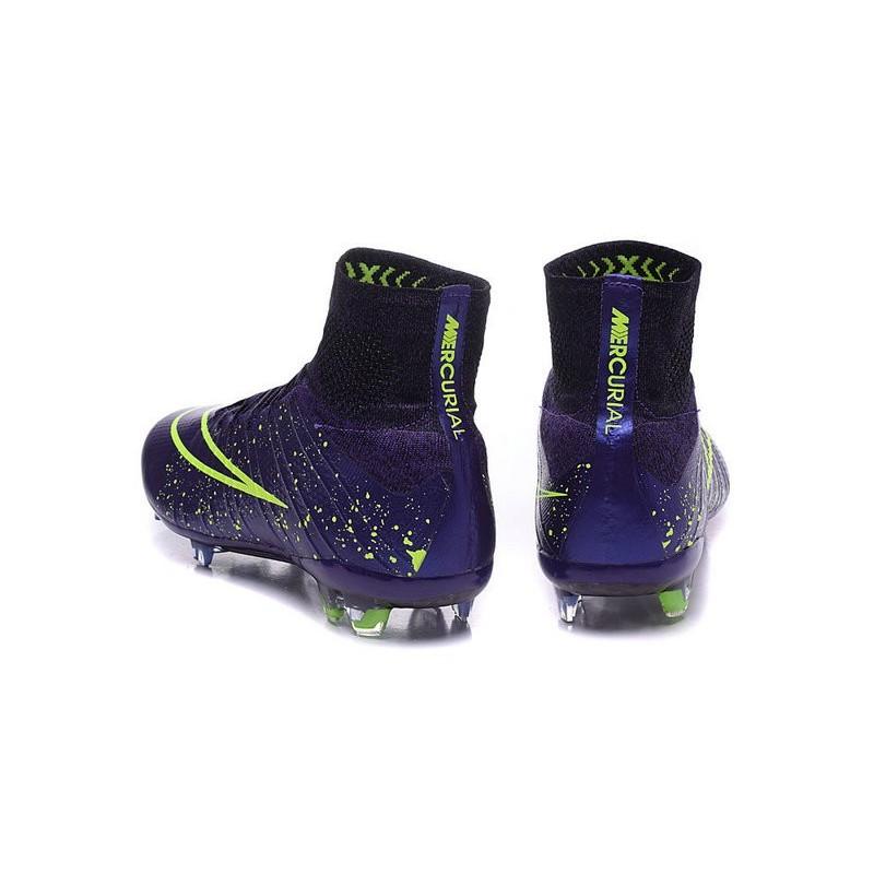 promo code d63d0 e3e05 Scarpa Calcio Cristiano Ronaldo Nike Power Clash Mercurial Superfly 4 FG  Viola Nero