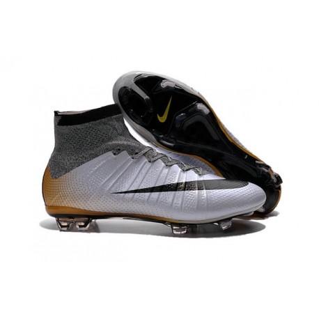 Scarpa Calcio Cristiano Ronaldo Nike Mercurial Superfly CR7 324K Gold Oro Bianco