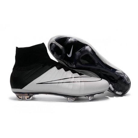 Scarpa Calcio 2016 Ronaldo Nike Mercurial Superfly FG Bianco Nero