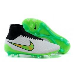 Scarpette da Calcio Nike Magista Obra FG ACC Bianco Verde