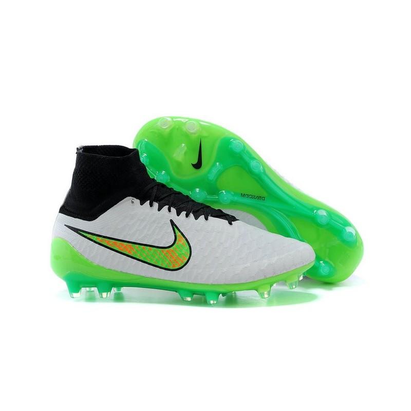 buy popular 9c385 cde76 Scarpette da Calcio Nike Magista Obra FG ACC Bianco Verde