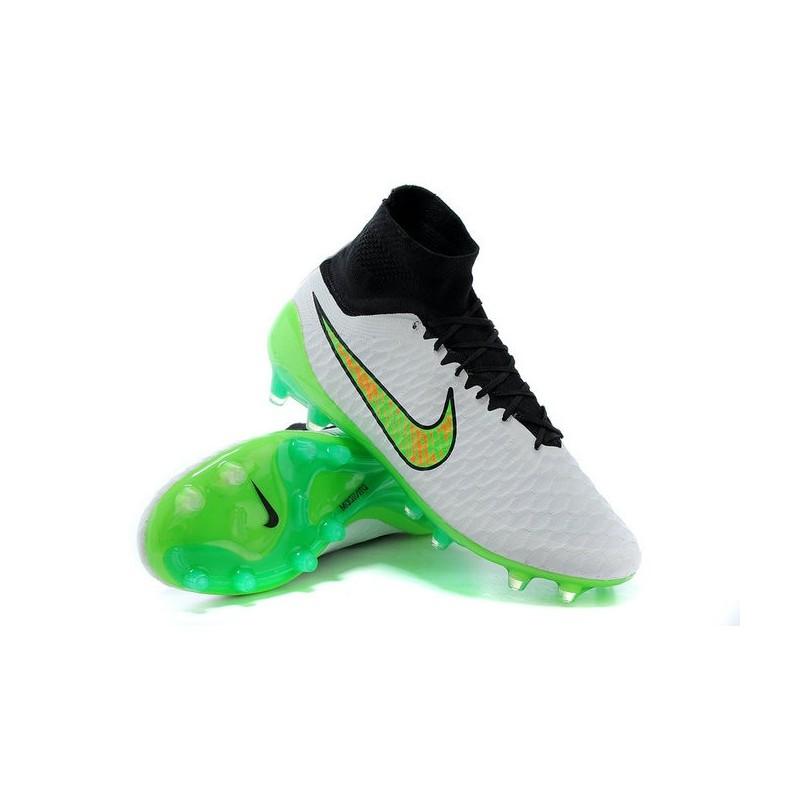 buy popular 63f53 4e585 Scarpette da Calcio Nike Magista Obra FG ACC Bianco Verde