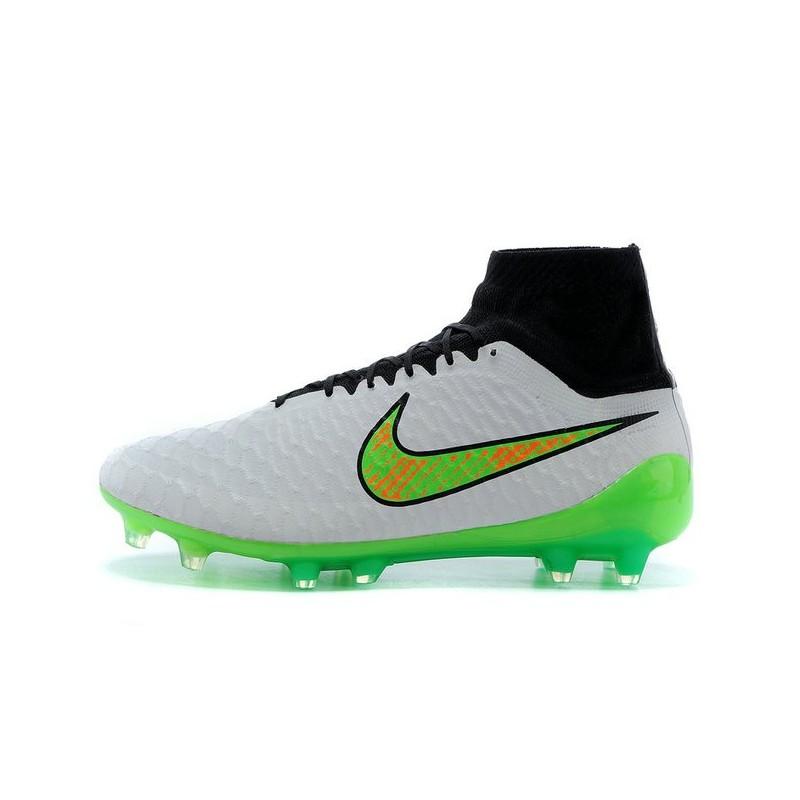 Obra Fg Nike Scarpette Calcio Acc Bianco Verde Magista Da 0PkXO8nw