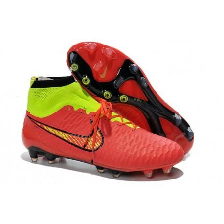 Scarpette da Calcio Nike Magista Obra FG ACC Rosso Oro