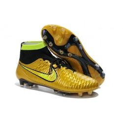 Scarpette da Calcio Nike Magista Obra FG ACC Oro Giallo