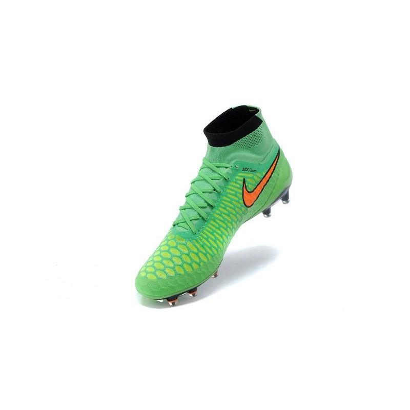 Nuovo Nike Arancio Scarpe Fg Verde Magista Obra Calcio Da MVGpqSUz