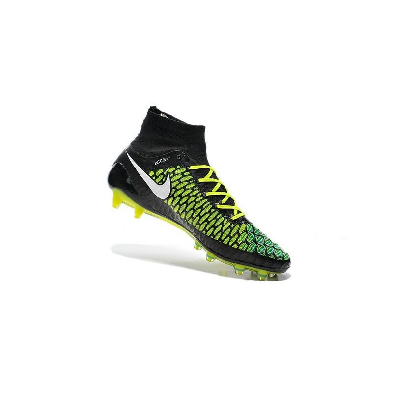 dfab73db1 Nike Nuovo Scarpe da Calcio Magista Obra FG Blu Nero Bianco