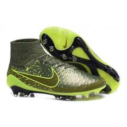 Nuove Scarpa da Calcio Nike Magista Obra FG ACC Power Clash Verde