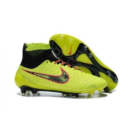 on sale e4e6b 286ec Nuove Scarpa da Calcio Nike Magista Obra FG ACC Volt Nero