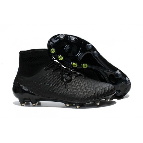 Nuove Scarpa da Calcio Nike Magista Obra FG ACC Tutto Nero