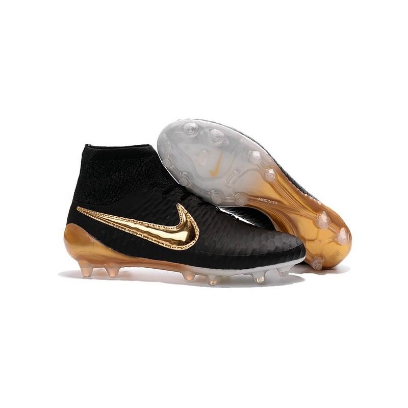 Nike Magista Scarpe Nuovo Oro 2016 Fg Obra Nero Da Calcio eWBorCdx