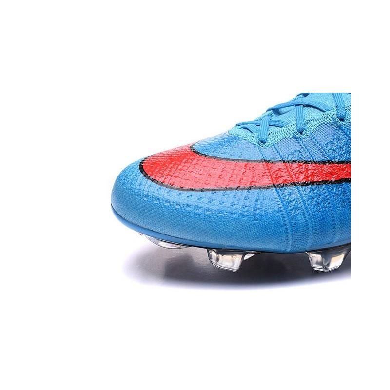 2016 Mercurial Scarpa Fg Rosso Ronaldo Blu Calcio Nike Superfly 13TKFJcl
