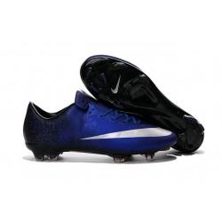 Scarpa da Calcio Nike Mercurial Vapor 10 FG Blu Metallic