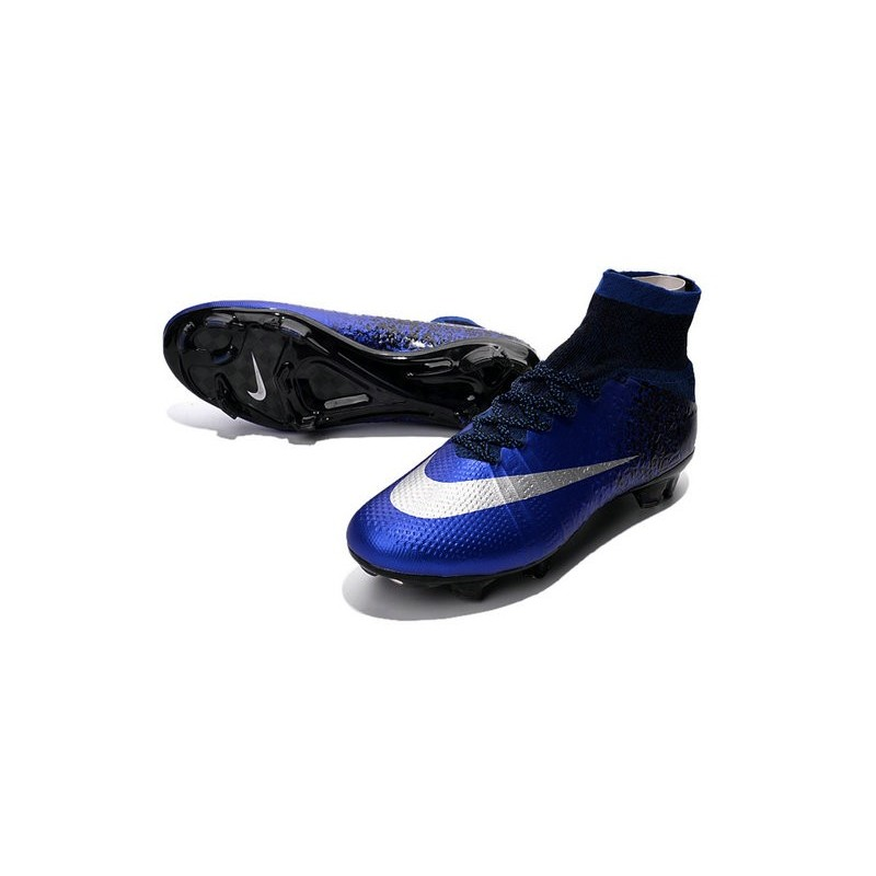 free shipping 86092 7731c Scarpa Calcio 2016 Ronaldo Nike Mercurial Superfly FG Blu Ro