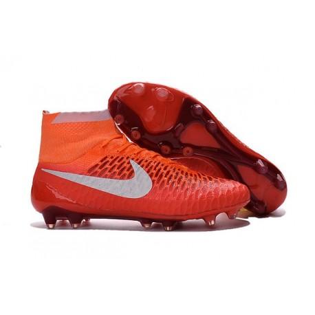 Scarpette da Calcio Nuove 2016 Nike Magista Obra FG ACC Rosa Bianco