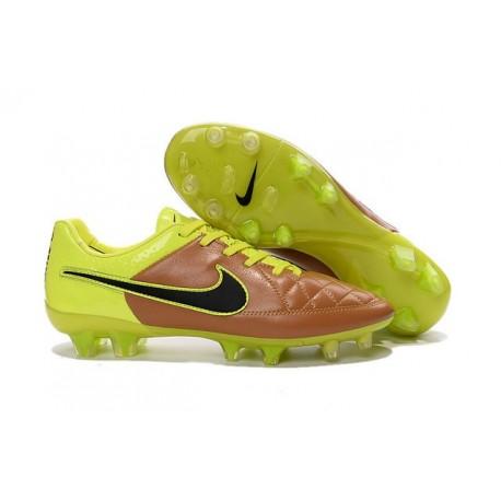 Scarpini da Calcetto Nike Tiempo Legend 5 FG ACC Giallo Nero