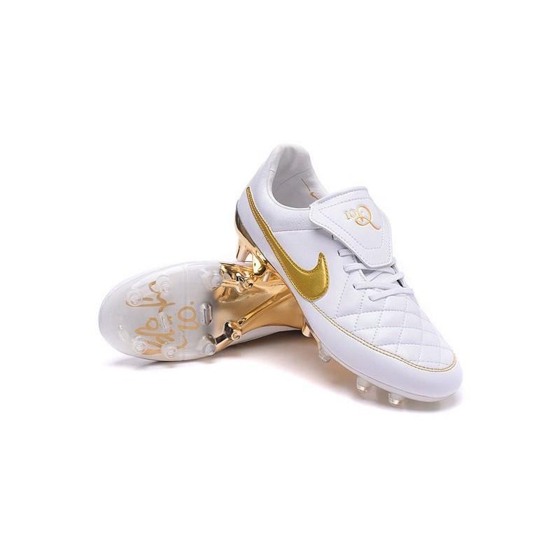 Nike Calcetto Acc Bianco Scarpini R10 Da Oro Tiempo Fg qT5XwEH