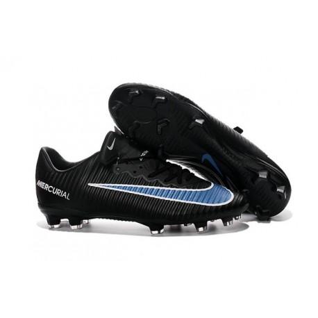 Scarpini Calcetto Nike Mercurial Vapor XI FG Uomo Nero Blu