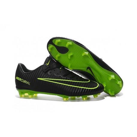 Nike Scarpa da Calcio 2016 Mercurial Vapor 11 FG ACC Nero Verde