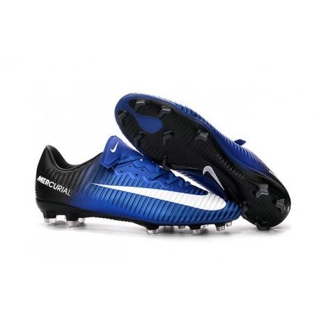 dc0ce008ba1e9 Nike Scarpa da Calcio 2016 Mercurial Vapor 11 FG ACC Blu Nero Bianco