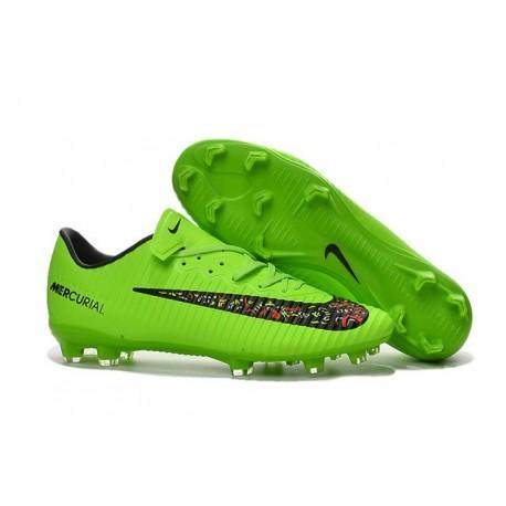 2016 Nike Verde Nero Vapor Da Fg Calcio Acc Scarpa Mercurial 11 hCtQrsd
