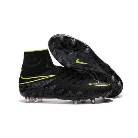 Scarpette da Calcio Nike HyperVenom Phantom 2 FG ACC Nero Verde