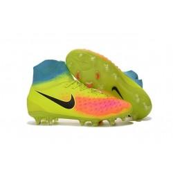 Nike Scarpa da Calcetto Magista Obra 2 FG Giallo Nero Arancio