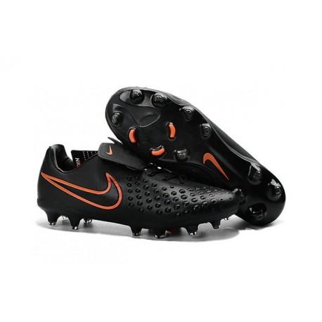 Nike Magista Opus II FG Nuovo 2016 Scarpe da Calcio Nero Rosso