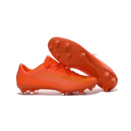 Nike Scarpa da Calcio 2016 Mercurial Vapor 11 FG ACC Tutto Arancio