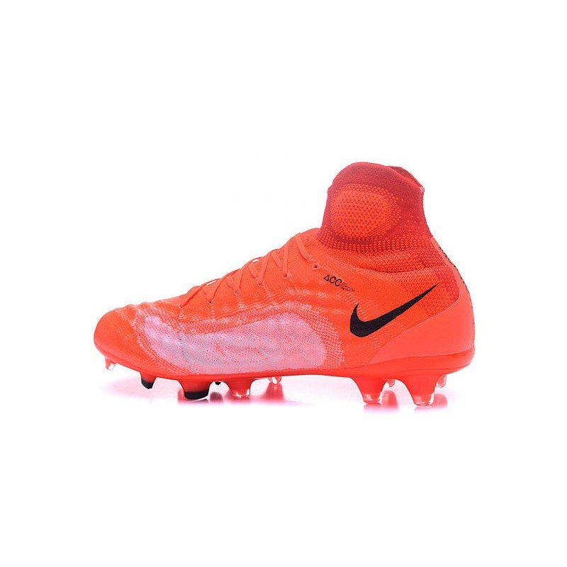 Obra Arancio Scarpa Nero Fg Nike Nuovo Calcio Da Magista 2 Yf6b7gyv