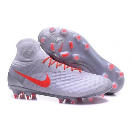 best sneakers 3640f 193c5 Nike Magista Obra II FG ACC Scarpe da Calcio Uomo Bianco Arancio