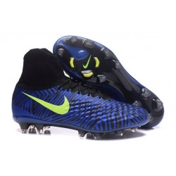 Nike Magista Obra II FG ACC Scarpe da Calcio Uomo Blu Volt