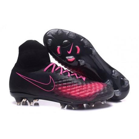 Scarpa Calcio Nuovo Nike Magista Obra 2 FG Nero Rosa
