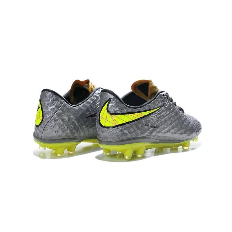 Scarpette Da Volt Calcetto Grigio Rosa Hypervenom Nike Acc Phantom Fg I29WHED