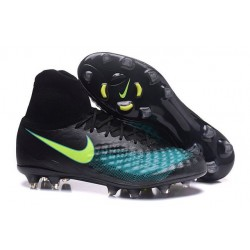 Scarpa Calcio Nuovo Nike Magista Obra 2 FG Nero Blu