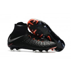Scarpe Calcio Nike Hypervenom Phantom 3 Dynamic Fit FG - Nero Metallico
