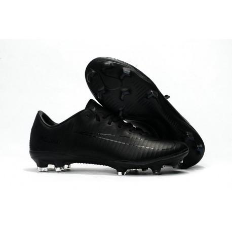 Nike Mercurial Vapor XI FG Scarpe Calcio Uomo Tutto Nero