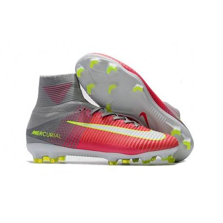 Nike Superfly 2017 Acc Mercurial Rosa Grigio Scarpe Fg V zpGLSUVqM