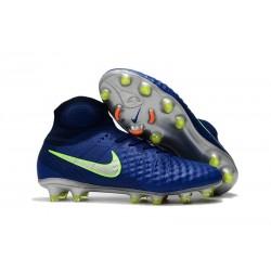 Scarpa Calcio Nuovo 2017 Nike Magista Obra II FG - Bleu Royal