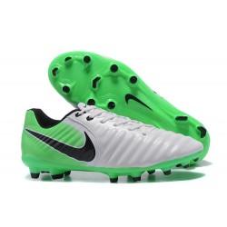 Nike Scarpa Calcio Uomo Tiempo Legend VII FG - Verde Bianco