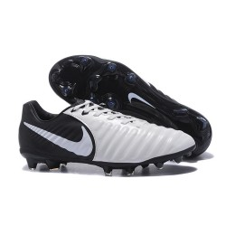 Nike Scarpa Calcio Uomo Tiempo Legend VII FG - Bianco Nero