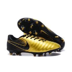 Nike Scarpa Calcio Uomo Tiempo Legend VII FG - Oro Nero