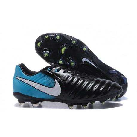 Nike Scarpa Calcio Uomo Tiempo Legend VII FG - Blu Nero