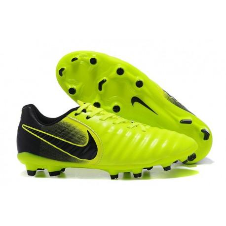 Nike Scarpa Calcio Uomo Tiempo Legend VII FG - Verde Nero
