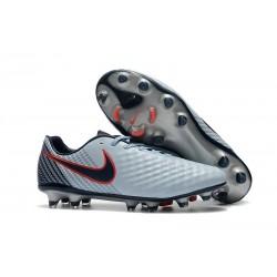 Scarpini da Calcio Nike Magista Opus 2 FG Uomo Grigio Nero