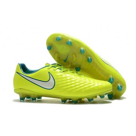 Scarpini da Calcio Nike Magista Opus 2 FG Uomo Giallo