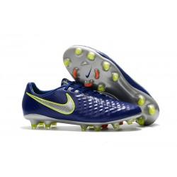 Scarpini da Calcio Nike Magista Opus 2 FG Uomo Blu Metallico